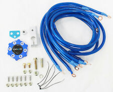 NRG GROUND WIRE SYSTEM CIRCLE EARTH GROUNDING KIT (BLUE)