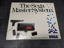 FACTORY BRAND NEW!!  Sega Master System - Original Launch Edition Console