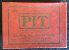 PIT: Bull And Bear Edition VINTAGE ( Parker Brothers, 1919)