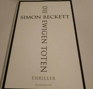 Die ewigen Toten von Simon Beckett (2019, Gebundene Ausgabe)