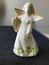 Royal Tara, Irish Angel with Harp, 2 x 2 1/2. Bone china, No box.