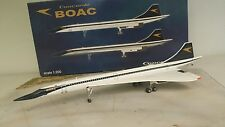 BAe Concorde BOAC G-BOAC, a metal model in 1/200 scale from Hogan 200