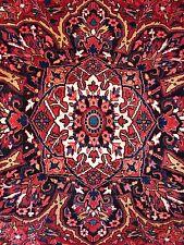 Handsome Heriz - 1940s Antique Persian Rug - Oriental Tribal Carpet 9 x 12.1 ft.