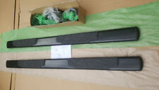 "VW Amarok Side Steps Running Board  10-17 Double Cab 4.5"" Powder Coated Black"