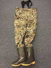 NEW Kobuk Men's Max-5 Camo Premium Breathable Hunting Wader Lug Boots Sz 13 KING