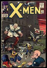 X-Men (1963) #11 1st Print 1st App The Stranger Stan Lee Jack Kirby Cov/Art Good