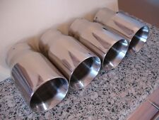 BMW E46 M3 Eurostyle Exhaust tips - OEM FIT (milltek, Scorpion, Cobra)