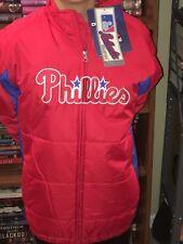 Philadelphia Phillies Jacket Majestic MLB Youth Large 14/16 Fall Winter Baseball