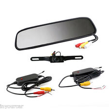 "4.3"" Wireless Rear View Backup Camera Monitor With Transmitter and Receiver Kit"