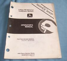 John Deere 3-Bag FM Material Collection System Operator's Manual - C2659