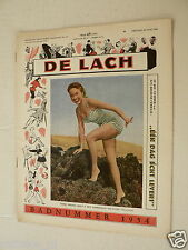 DE LACH 1954 SUMMER ISSUE,DE CARLO,DECKER,CARROLL,SAUNDERS,MILLER,BLANCHARD,NINC