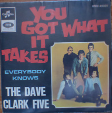 "DAVE CLARK FIVE-you got what it takes-rare israeli 1 st. pressing 7"" P/S EP NM"