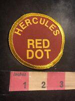 HERCULES RED DOT Gun / Ammo Related Advertising Patch C93N