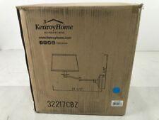 Kenroy Home Riverside 16 in. Copper Bronze Wall Swing Arm Lamp
