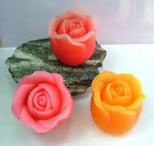 egbhouse, Silicone soap / floating candle Mold - Victorian Rose, silicone mold