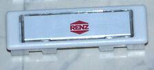 1x  RENZ Kombitaster Lira weiß RENZ Nummer 85110 Klingeltaster Namensschild