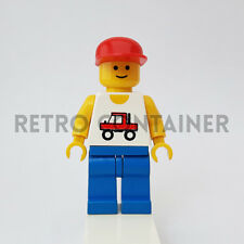 LEGO Minifigures - 1x trc003 - Trucker - Town Omino Minifig Vintage 6351 6641