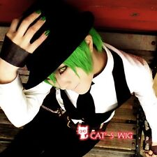 BLAZBLUE Hazama Green Cosplay Wig