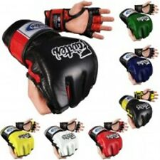 NEW Fairtex MMA Ultimate Combat Gloves - Black Blue Red White Green Yellow - UFC