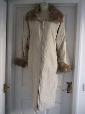w Womens Size 18 Zip Up Coat +Detachable Collar Ladies SMART WORK EVENING WINTER