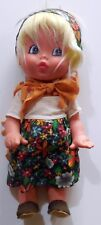VINTAGE BAMBOLA FIBA DOLL PUPAZZO TOY 30 CM MADE IN ITALY ANNI 70