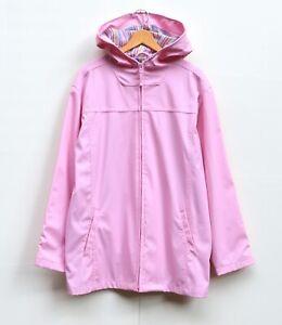Vintage Misty Harbor Signature Women's XL Pink Rain Coat Jacket - Polyester