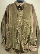 BURBERRY MENS NOVA CHECK LONG SLEEVE BUTTON FRONT SHIRT MENS SIZE L