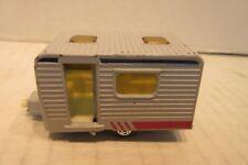 1977 Matchbox Superfast No. 31 Gray Caravan Camper Toy Gray Door