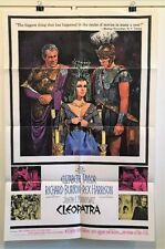 Cleopatra - Original Movie Poster - 1964    Taylor Burton   *Hollywood Posters*