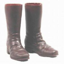 1/6 Battle Gear Toys Bottes Cowboy Plastic 574 02 marron - Western