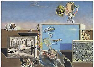 Kunstkarte: Salvador Dali - Erleuchtete Lüste