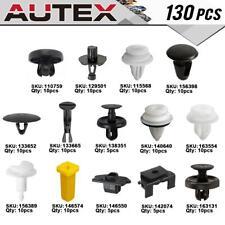 130 Clip Bumper Hood Fastener Retainer Assortment Kit for Lexus IS250 2006-2011