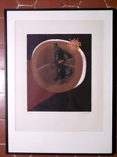 PIAUBERT Jean Lithographie originale signé numéroté Original Etching Gironde