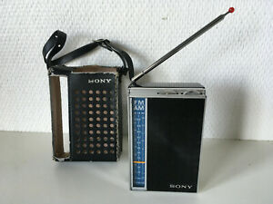 SONY TFM 825 DL / GOOD CONDITION / WORKING ONLY ON FM / Mini Radio