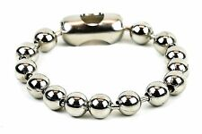 Ball Chain Cuff Steel Classic Punk Rock Style Wrist Bracelet Jewelry