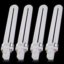 4pcs/SET UV Gel  LED LAMP Cures Curing Light Nail Dryer U-shape Tube Bulb Lamp