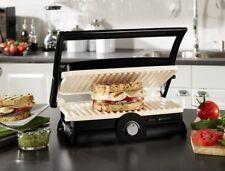 Grill Panini Sandwich Maker Dura Ceramic Non Stick Flat Electric Eco Kitchen New