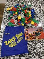 Huge Lot of 1987 Ohio Art Zaks w/ Zaks Sak Toy Bag & Instructions - Free Ship
