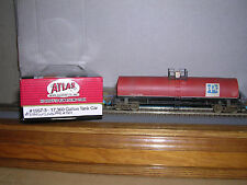 "ATLAS #1557-3  P.P.G. ""Red""l 17,360 Gallon Tank Car #1501 Weathered H.O.Gauge"