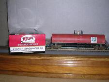 "ATLAS #1557-3  P.P.G. ""Red""l 17,360 Gallon Tank Car #1501 Weathered H.O.Gauge"