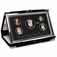1992 Premier US Mint Silver Proof set (OGP) - 90% Silver Kennedy Black Box & COA