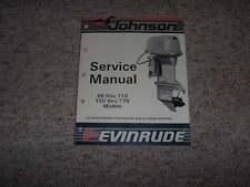 1987 Johnson Evinrude 88 90 100 110 150 175 HP Shop Service Repair Manual
