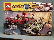 LEGO World Racers,Wreckage Road (8898) PLUS Snake Canyon (8896) NEW SETS