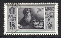 Italy 10 Lire + 2.50 Lire Air Mail Stamp c1932 Fine Used (4963)