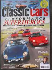 Classic Cars February 2016 Jaguar XJ220 Esprit TVR Griffith 964 Carrera TR7 A110