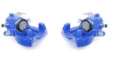 VW GOLF R32 MK4 02-06 BLUE VENTED PAIR OF REAR BRAKE CALIPER CALIPERS NEW