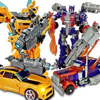 Transformers Car Action Figures  Grimlock Bumblebee Optimus Prime Kid Toy Gifts