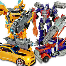 Car Action Figures Grimlock Bumblebee Optimus Prime Megatron Kid Toy Gifts