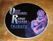 Ozzy Osbourne Sticker CollectiBle Rare Vintage 90'S Metal Randy Rhoads