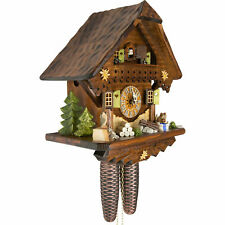 Cuckoo Clock: The Summer Meadow Chalet with 8-day-movement